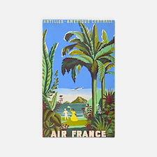 Air France Vintage Travel Poster for Antilles Area