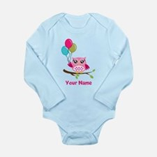 personalized add name Long Sleeve Infant Bodysuit