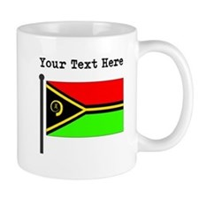 Custom Vanuatu Flag Mugs