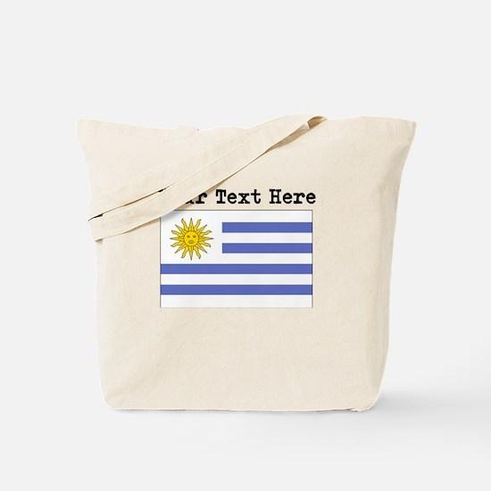 Custom Uruguay Flag Tote Bag