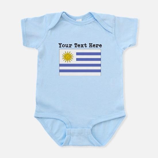 Custom Uruguay Flag Body Suit