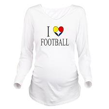 Cute Steelers Long Sleeve Maternity T-Shirt