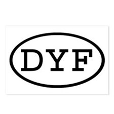 DYF Oval Postcards (Package of 8)