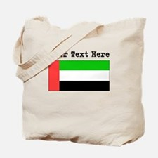 Custom United Arab Emirates Flag Tote Bag