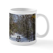 Snow Trail Scenery Mugs