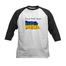 Custom Ukraine Flag Baseball Jersey