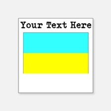 Custom Ukraine Flag Sticker