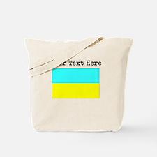 Custom Ukraine Flag Tote Bag