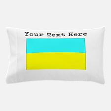 Custom Ukraine Flag Pillow Case