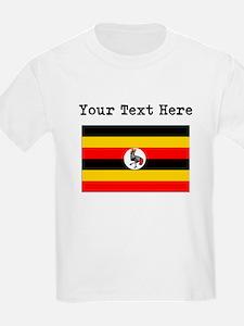 Custom Uganda Flag T-Shirt