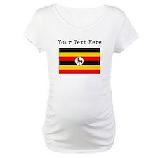 Custom Uganda Flag Shirt