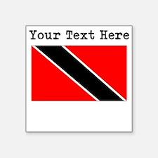 Custom Trinidad And Tobago Flag Sticker