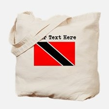 Custom Trinidad And Tobago Flag Tote Bag