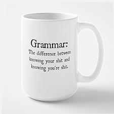 Grammar Differences Mugs