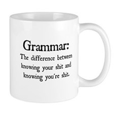 Grammar Differences Mugs