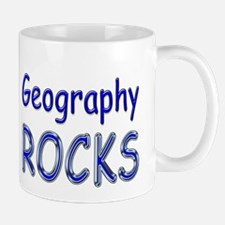 Geography Rocks Mug