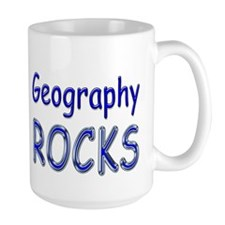 Geography Rocks Mug