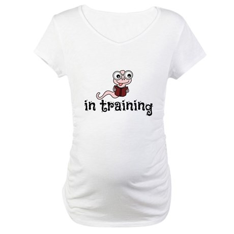 Bookworm Maternity T-Shirt