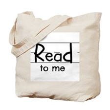 Read to me Tote Bag