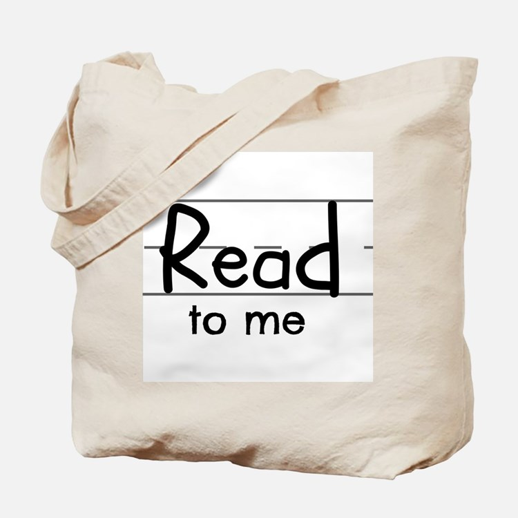 Read to me Tote Bag