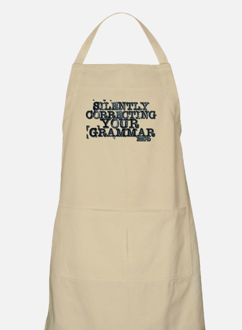 Cute Wrong grammar Apron