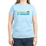 Penguin Happiness Women's Light T-Shirt
