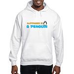 Penguin Happiness Hooded Sweatshirt