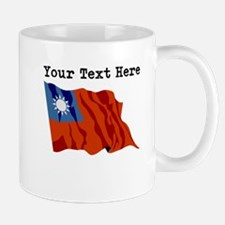 Custom Taiwan Flag Mugs