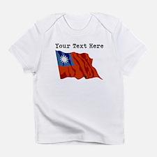Custom Taiwan Flag Infant T-Shirt