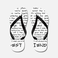 Best friends Flip Flops