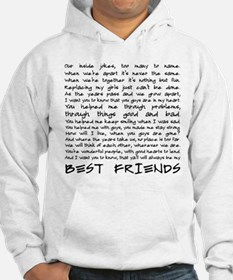 Best friends Sudaderas con capucha