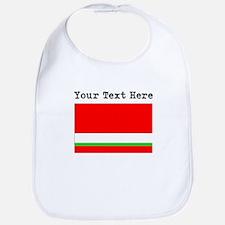 Custom Tajikistan Flag Bib