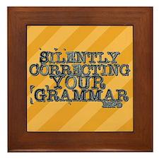 Correcting Your Grammar Framed Tile