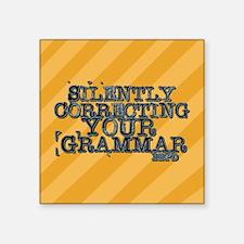 Correcting Your Grammar Sticker