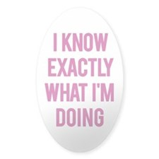 I Know... Decal