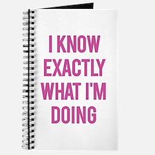 I Know... Journal
