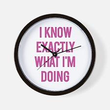 I Know... Wall Clock