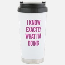 I Know... Travel Mug