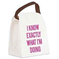 I Know... Canvas Lunch Bag
