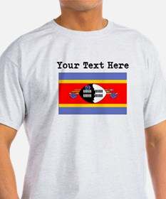 Custom Swaziland Flag T-Shirt