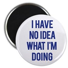 "I Don't Know... 2.25"" Magnet (10 pack)"