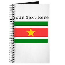 Custom Suriname Flag Journal