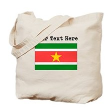 Custom Suriname Flag Tote Bag