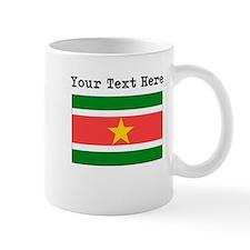 Custom Suriname Flag Mugs