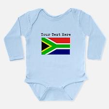 Custom South Africa Flag Body Suit