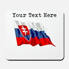 Custom Slovakia Flag Mousepad