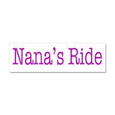 Nanas Ride Car Magnet 10 x 3