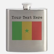 Custom Senegal Flag Flask