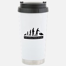 The Evolution of Dad Stainless Steel Travel Mug