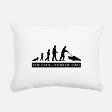 The Evolution of Dad Rectangular Canvas Pillow